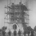 Weißenfelser Bismarckturm im Bau