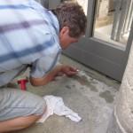 Sanierungsarbeiten 2012 - Balkontüren