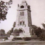 Bismarckturm um 1950